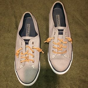 Sperry Canvas Gray Fashion Sneakers